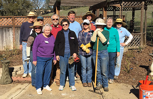Mother Lode Pruning Group team