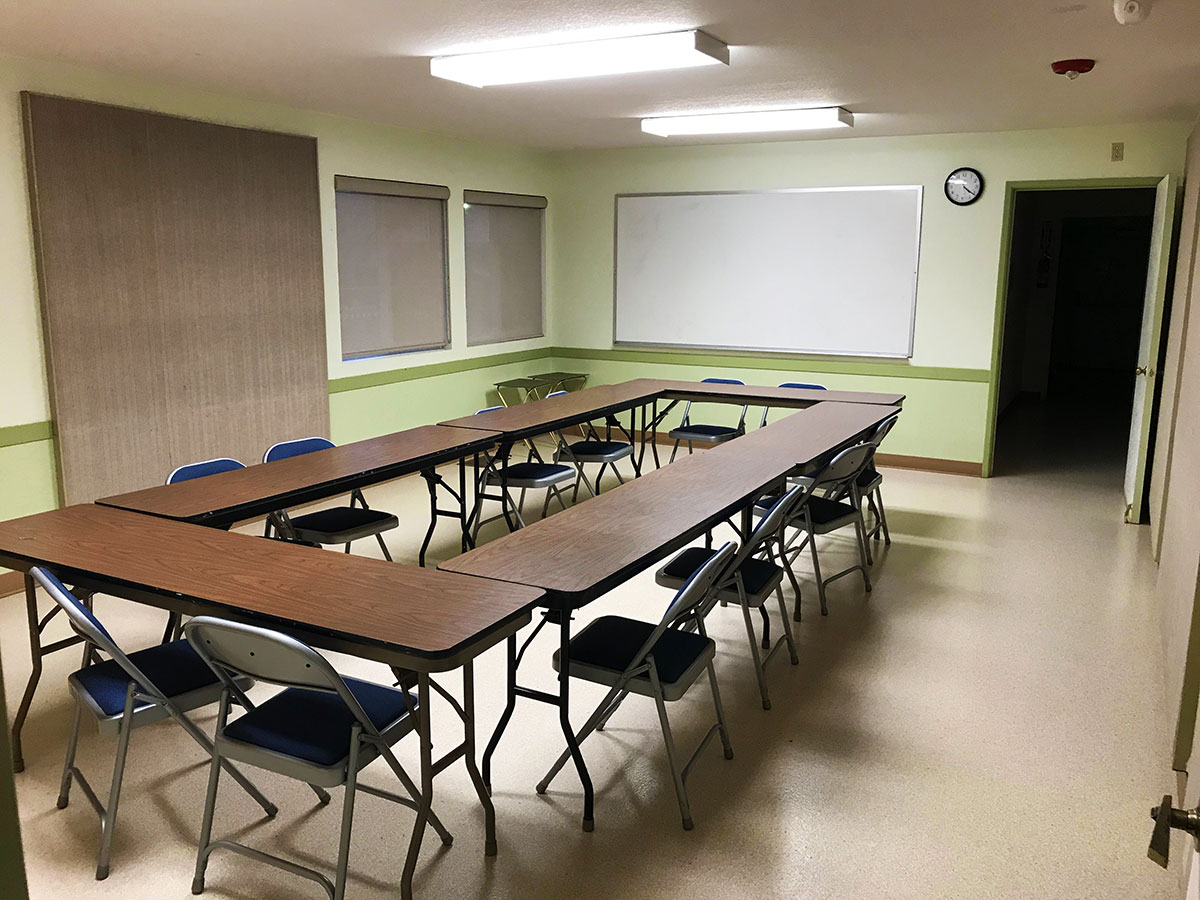Classroom #1 (maximum of 20)