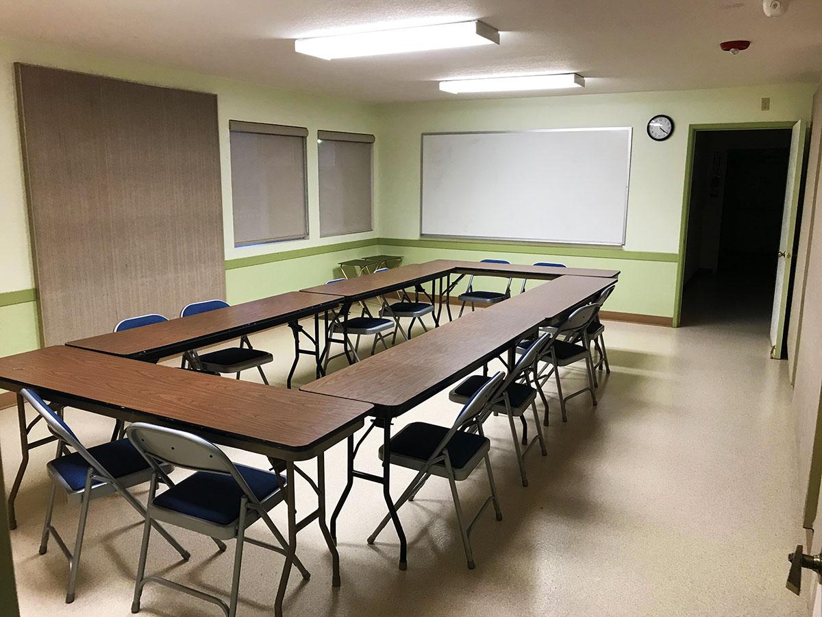 Classroom #1 (maximum of 20)